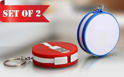 Round Data Cable With Keyring