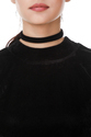 Women's Black Beliing Top