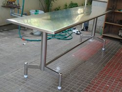 Phenomenal Stainless Steel Tables Steel Table Manufacturer From Caraccident5 Cool Chair Designs And Ideas Caraccident5Info