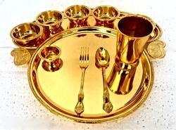 Grand Taj Golden Thali Set