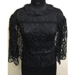 Ladies Net Black Top