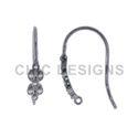 Designer Diamond Ear Wire Findings