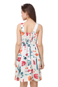 Floral Print Western Short Dress