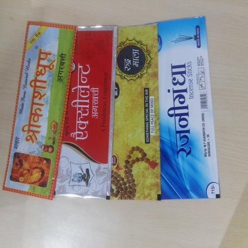 Agarbatti Packing Pouches