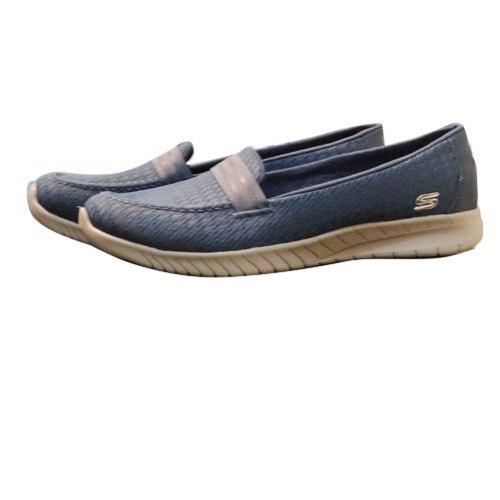 Casual Blue Men Skechers Loafer Shoes