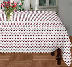 Mini Dot Printed Table Cloth