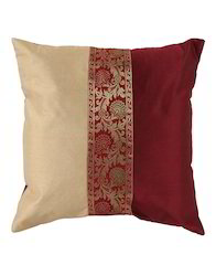 Brocade Patchwork Cushion Cover