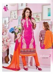 Embroidered Party Wear Suit