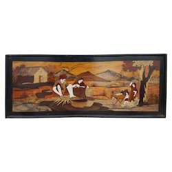 Wooden Painting Photo Frame