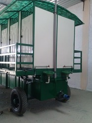 Mobile FRP Toilet