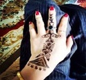 Indian Black Henna Tube for body art