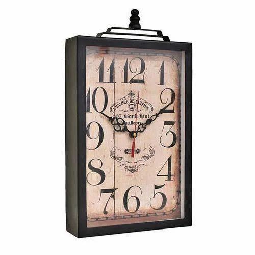 Rectangle Dial Wall Clock