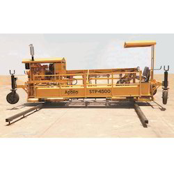 Optimal Traction Level Concrete Paver Machine