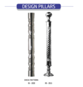 Stainless Steel Design Pillar