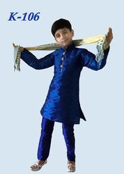 Boys Embroidered Kurta Pajama