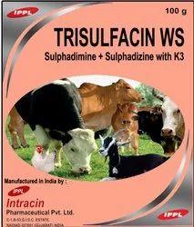 Sulphadimine Sulphadizine Sulphathiazone Sodium with Vitamin K3 Powder