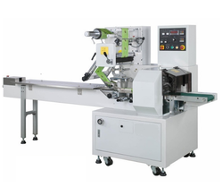 Flow Wrapping Machine For Packing Pet Food, Bread,Cakes