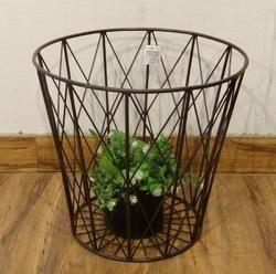 Iron Wire Indoor - Outdoor Vertical Planter