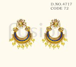 Traditional Polki Earrings