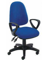 PU Star Base ESD Chair With Arms