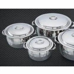Jumbo Saloni Stainless Steel Handi Set