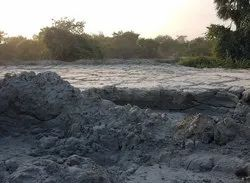 M Sand wastage for filling purpose