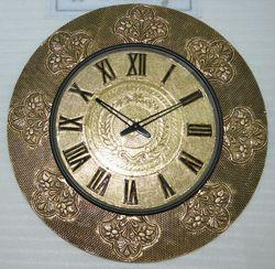 Golden Work Dial Wall Clock