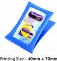 Promotional Blue Plastic Paper Clip