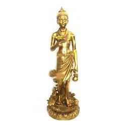Brass God Statues