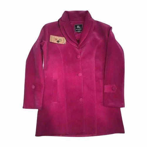 230f53e550a Ladies Long Coats - Ladies Velvet Long Coat Manufacturer from Delhi