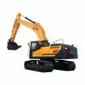 Long Reach Poclain Excavator Rental Services