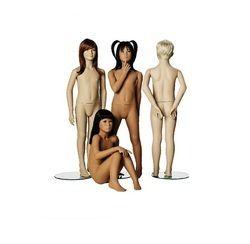 Multiple Kids Mannequins
