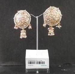Antique Kundan Stud Earrings