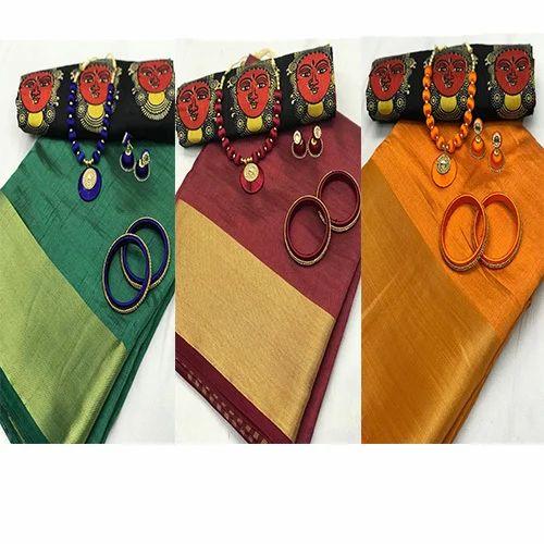 197613a58f57fd Kalamkari Blouses With Plain Sarees - Image Of Blouse and Pocket