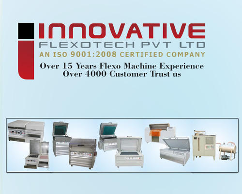 Letterpress Plate Making Machine - 2430/3040/4050