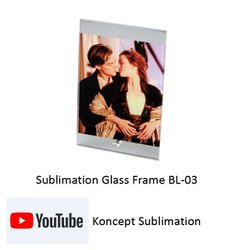 Sublimation Glass Frame BL 03