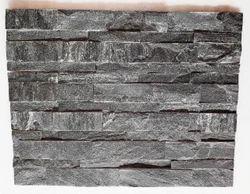 Black Gray Wall Panel