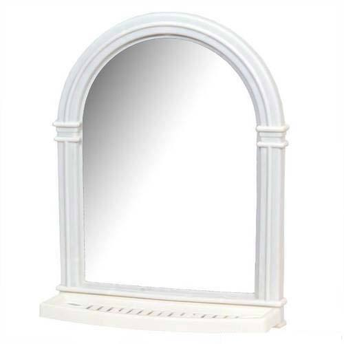 Wall Mirror - White Frame Wall Mirror Manufacturer from Rajkot