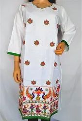 Floral Embroidered Kurti