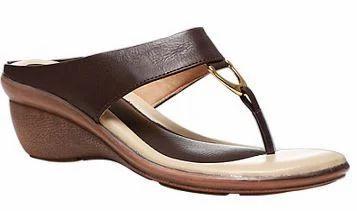 8b54ef6411e Bata Heels Chappals - Bata Women Tan Chappals F671309400 Retailer ...