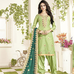 Fancy Work Patiyala Suit