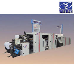 Insert And Outserts Reel To Sheet Printing Machine