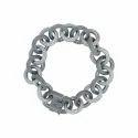 White and Black Diamond Bracelet