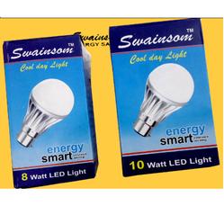 Swainsom Brand LED Bulb Packing Boxes