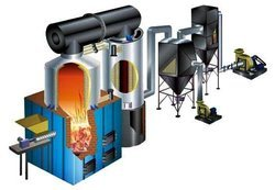 Solid Fuel Thermic Fluid Heater