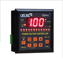 16-Stages Power Factor Correction Relay