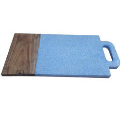 Terrazzo Marble and Wood Chopping Board