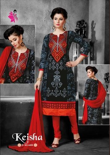 31654d2e9b Ladies Salwar Suits - Printed Suit Manufacturer from Ahmedabad