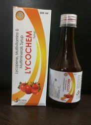 Pharma Franchise for Lycopene Multivitamin Multimineral Syrup