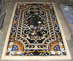 Marquetry Mosaic Stone Inlay Table Top